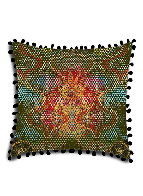 Maxx Deco Velvet Dekoratif Yastık Renkli